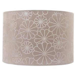 View Colours Daisy Beige Laser Cut Light Shade (D)31cm details