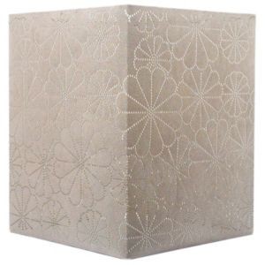 View Colours Daisy Beige Laser Cut Light Shade (D)20cm details