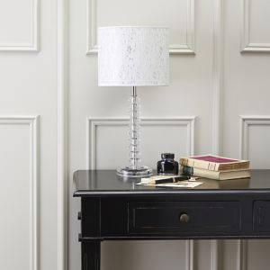 Image of Aix Chrome effect Halogen Table lamp