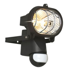 View B&Q Mains Powered 150W Halogen Sensor Floodlight details