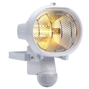 View B&Q Mains Powered 230W Halogen PIR Floodlight details