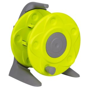View B&Q Green & Grey Plastic Hose Reel details
