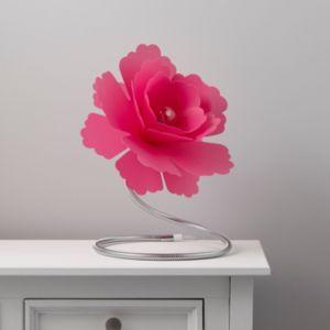 Image of Paloma Flower Fuchsia Incandescent Table lamp