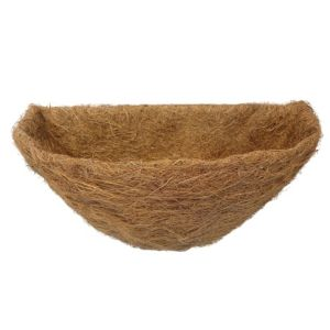 View B&Q Brown Natural Fibre Hanging Basket Liner details