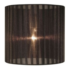 View Colours Camilla Black Ribbon Light Shade details