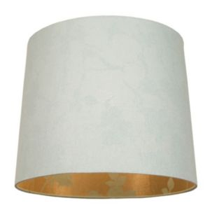 View Colours Constance Duck Egg Blue Linen Effect Light Shade details