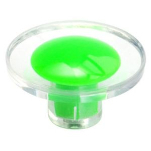 B&Q/Building & Timber Products/Building materials & accessories/B&Q Green Round Furniture Knob  Pack of 1