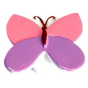 View B&Q Multicolour Butterfly Furniture Knob, Pack of 1 details