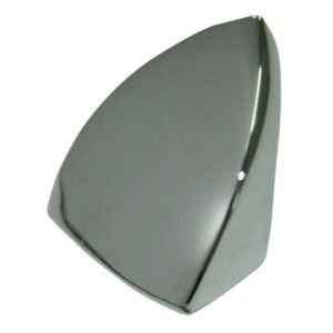View Chrome Effect Modern Moulded Curve Cabinet Knob details