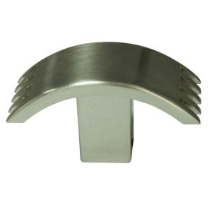 View Nickel Effect T-Shaped Cabinet Handle details