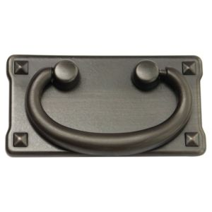 Image of B&Q Bronze effect Gate Gate pull handle Pack of 1
