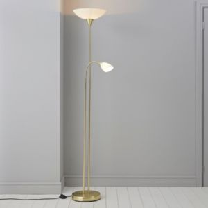 Image of Carpio Gold Floor Lamp