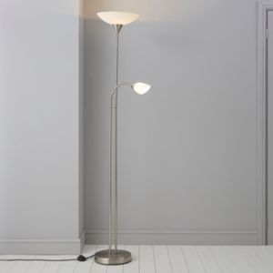 Image of Carpio Chrome Effect Floor Lamp