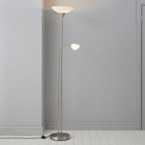 Image of Carpio Chrome effect Incandescent Floor lamp