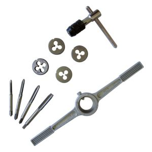 View B&Q 10 Piece Carbon Steel Tap & Die Set details