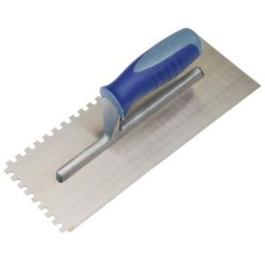 View B&Q Notched Trowel (L)280mm (W)120mm details