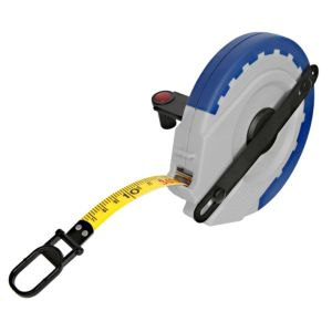 View B&Q Grey & Blue 30m Tape Measure details