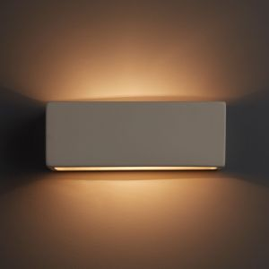 Image of Melody White Single wall light