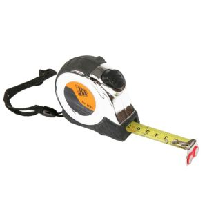 View JCB Chrome & Black 5m Tape Measure details