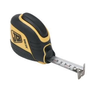 View JCB Yellow & Black 8m Tape Measure details
