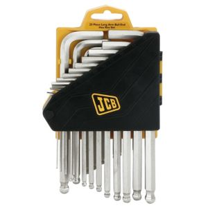 View JCB Steel Ball End 1 Piece Hexagon Key Set details
