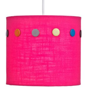 View Colours Matilda Pink Button Light Shade (D)20cm details