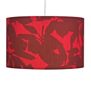View Colours Madeline Red Leaf Light Shade details