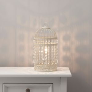 Image of Isobel Cream Incandescent Table lamp