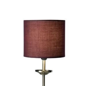 View Colours Briony Purple Light Shade (Dia)150mm details