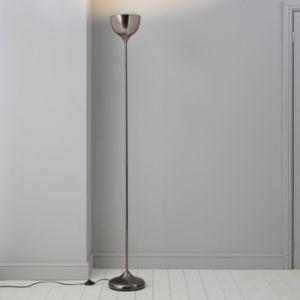 Image of Lena Gunmetal grey Floor lamp