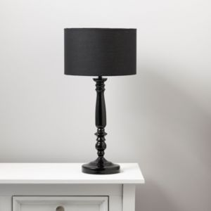 Angelina Black Table Lamp