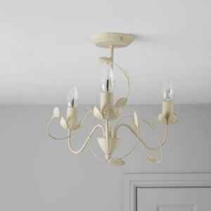 View EVA Cream 3 Lamp Ceiling Light details