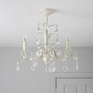 View Burton Cream 3 Lamp Ceiling Light details