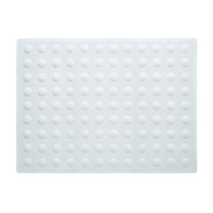 View B&Q White Rubber Anti-Slip Bath Mat (L)570mm (W)430mm details