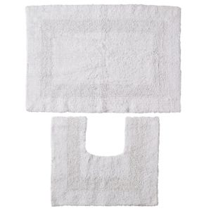 View B&Q White Cotton Bath & Pedestal Mat (L)700mm (W)500mm details