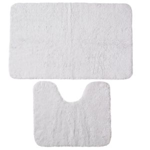 View B&Q Value White Cotton Bath & Pedestal Mat (L)800mm (W)500mm details