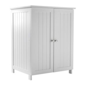View B&Q Adelite White Large Vanity Unit details