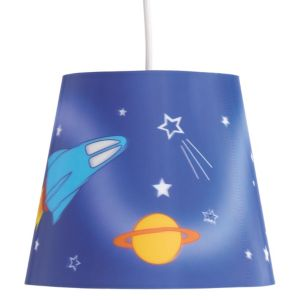 View Colours Blue Rocket Light Shade details