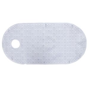 View B&Q PVC Anti-Slip Bath Mat (L)800mm (W)400mm details