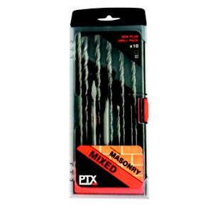 View PTX 4-12 mm SDS Drill Bit Set, 10 Piece details