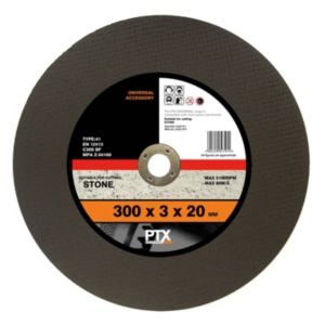 View PTX Flat Stone Cutting Disc (Dia)300mm details