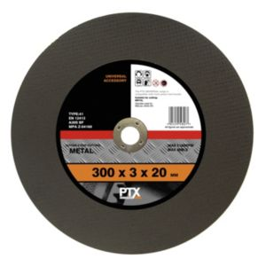View PTX Flat Metal Cutting Disc (Dia)300mm details