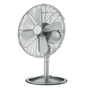 View Blyss Chrome Effect Desk Fan details