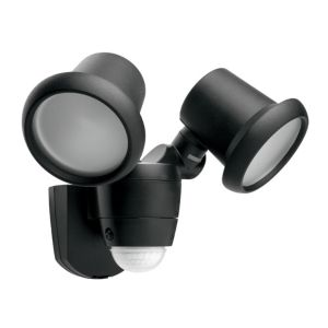 View B&Q Photon 42W Mains Powered Sensor Twin Spotlight details