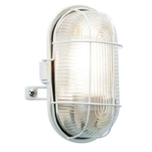 View B&Q Taro 60W Mains Powered Bulkhead Light details