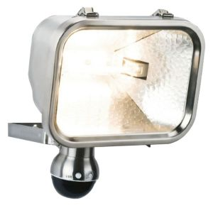 View B&Q Proteus 230W Mains Powered PIR Floodlight details