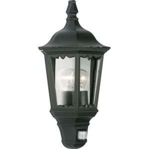 View Lights Outside Ryedale Black External PIR Lantern details