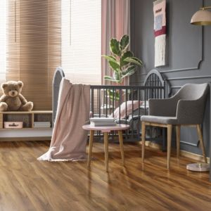 View Colours Dolce Walnut Effect Laminate Flooring 1.19 m² details