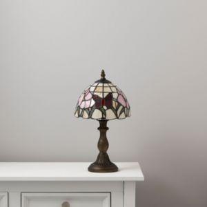 Image of Ailsa Multicolour Antique Bronze Effect Table Lamp