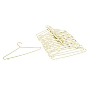 View B&Q Cream Clothes Hanger, Pack of 15 details